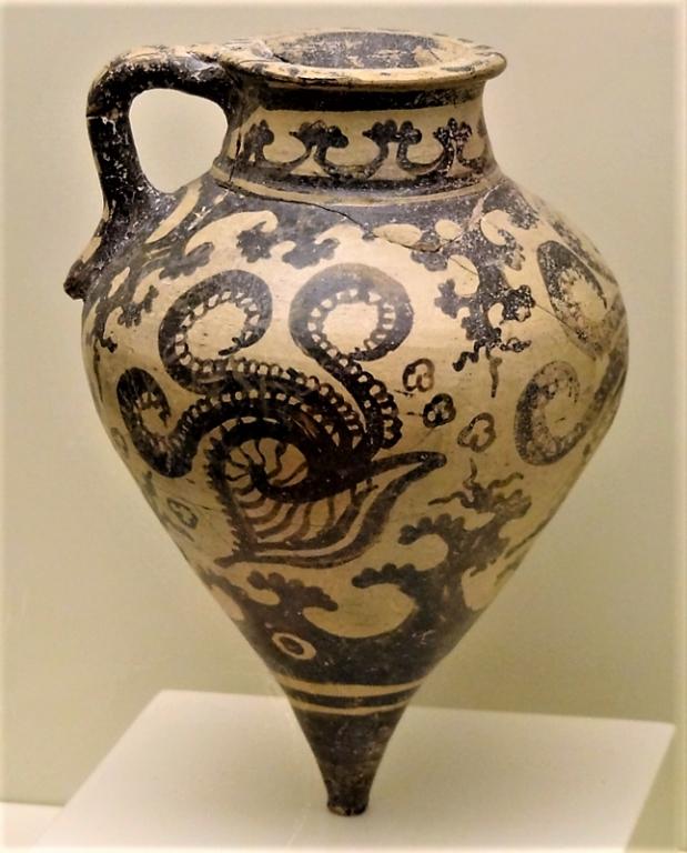 Rhyton minoen aux argonautes - 3500 BP