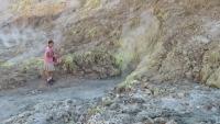 Suzette et Henri dans la caldera de Nisyros (2)