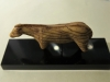 """Cheval de Lourdes - Grotte """"les Espelugues"""" (65) en ivoire de mammouth découvert en 1886 -"""