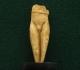 figurine à la ceinture, en ivoire de mammouth, découverte par Edouard Piette dans la grotte du Pape à Brassempouy (Landes) - Gravettien vers 25000 BP - H=7cm