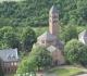 JJ-Dolomites de Gerolstein, point de vue de Munterley, l'église