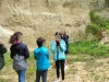 Visite de la falunière