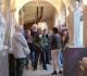 Le groupe  en visite au musée de Semur en Auxois sous la conduite d'Alexandra, la conservatrice.